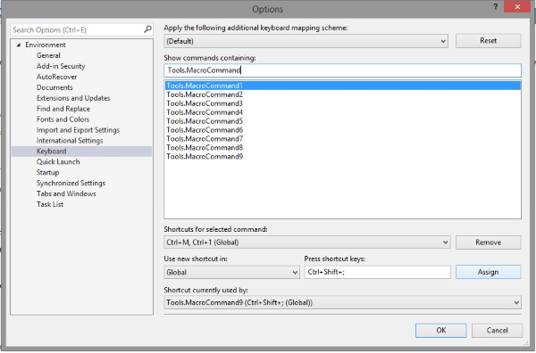 Macros for Visual Studio - Visual Studio Marketplace